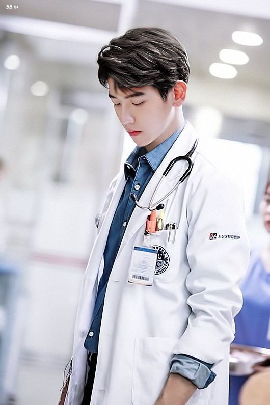 I wish he was my doctor and if was then I could go to doctor everyday!¥¥
