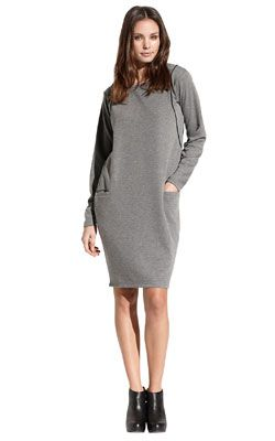 Super comfy sweat dress - love it for sundays