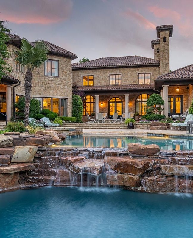 Mediterranean In Vaquero Luxury Homes Dream Houses House And Home Magazine Luxury Homes
