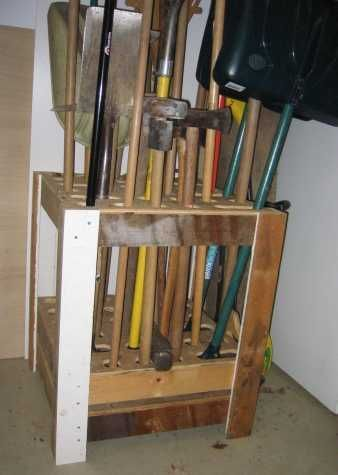 Plans For A Garden Tool Rack   This Is Inspiration... Looking For Ideas