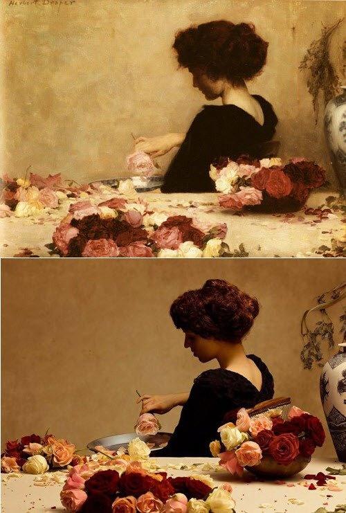 "Herbert James Draper ""Potpourri"", 1897"