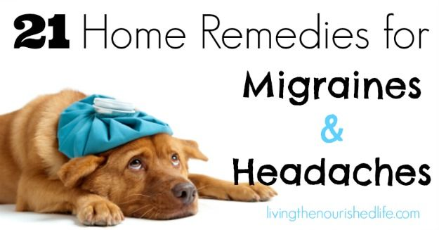 21 Home Remedies for Migraines and Headaches - The Nourished Life