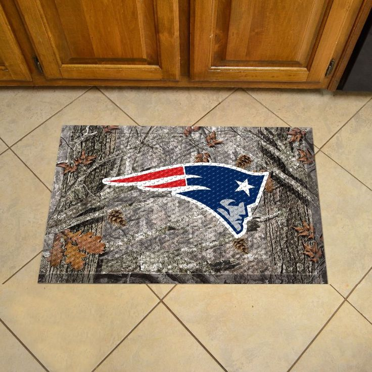 Show off your team pride in high traffic areas with this New England Patriots…