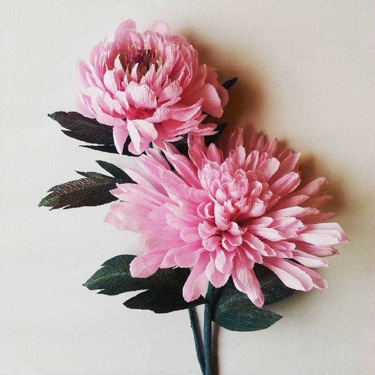 #paper #flowers #crepepaperflowers #handmade