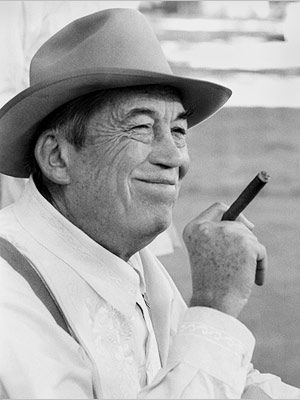 """John Huston - In 1942 he was activated by the U.S. Army to make films for the Army Signal Corps. While in uniform with the rank of captain, he directed and produced three films that some critics rank as """"among the finest made about World War II."""" https://en.wikipedia.org/wiki/John_Huston"""