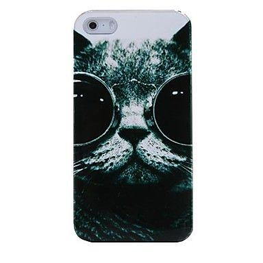 Glazen Kat plastic achterkant van de behuizing voor de iPhone 4/4S – EUR € 2.75