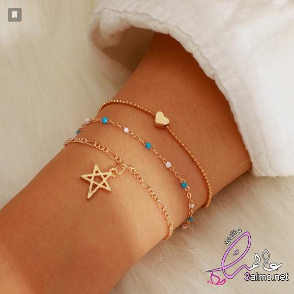أكسسوارات أساور ناعمة ورقيقة صور أساور حديثة اجمل أساور للبنات صور اساور خطيرة Delicate Bracelet Jewelry Bracelets