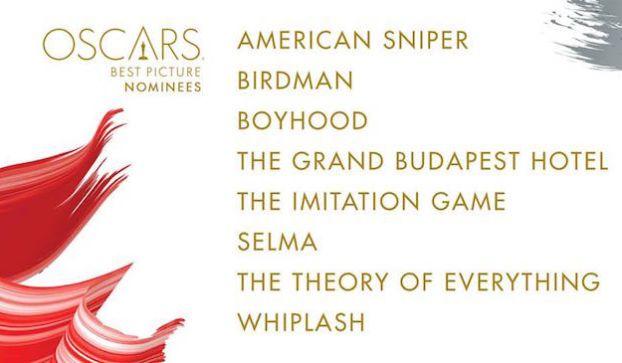 Premio Oscar 2015: tutte le nomination