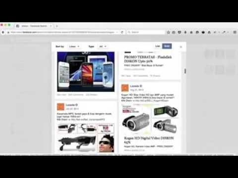 THE GRAPH v 3 -  Cara mengintip iklan kompetitor & target iklannya