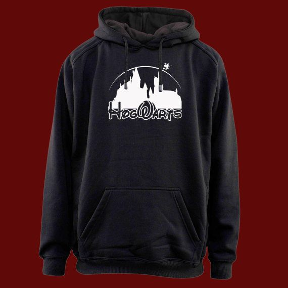 harry potter hogwart disney castel  for hoodie  by Nickfrienship