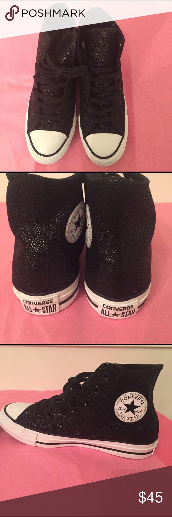 Sneakers Converse black metallic hi top sneakers Converse Shoes Sneakers