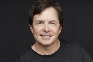Michael J. Fox - our inspiring motivator in chief for the MJFF for PD research