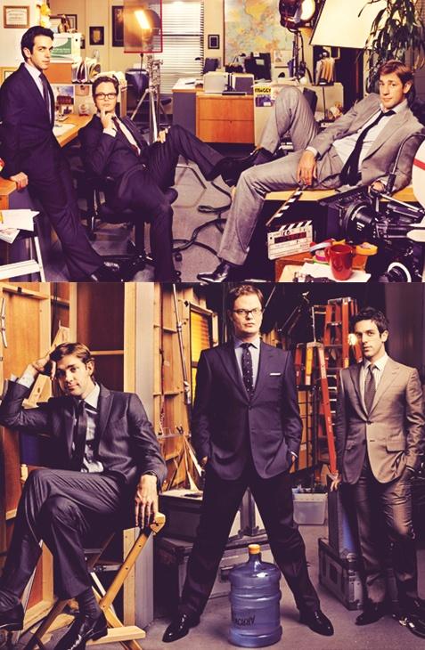Men of the Office - John Krasinski, Rainn Wilson, and BJ Novak