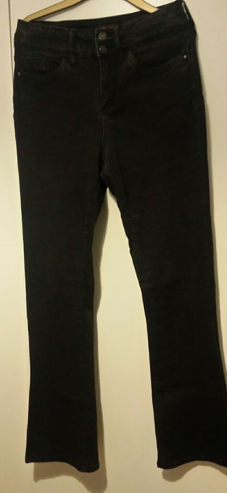 Black Jeans Size 8 Long Fashion Clothing Shoes Accessories