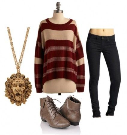 CollegeFashion.com Fashion at the Movies: Harry Potter and the Deathly Hallows - Fashion Inspired by the Hogwarts Houses – Gryffindor - Mrs. Weasley Sweaters
