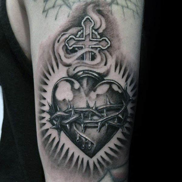 Pin De Derick Carrillo En Projekt Tatuaje Sagrado Corazon Tatuaje Corazon Sagrado Corazon Tattoo