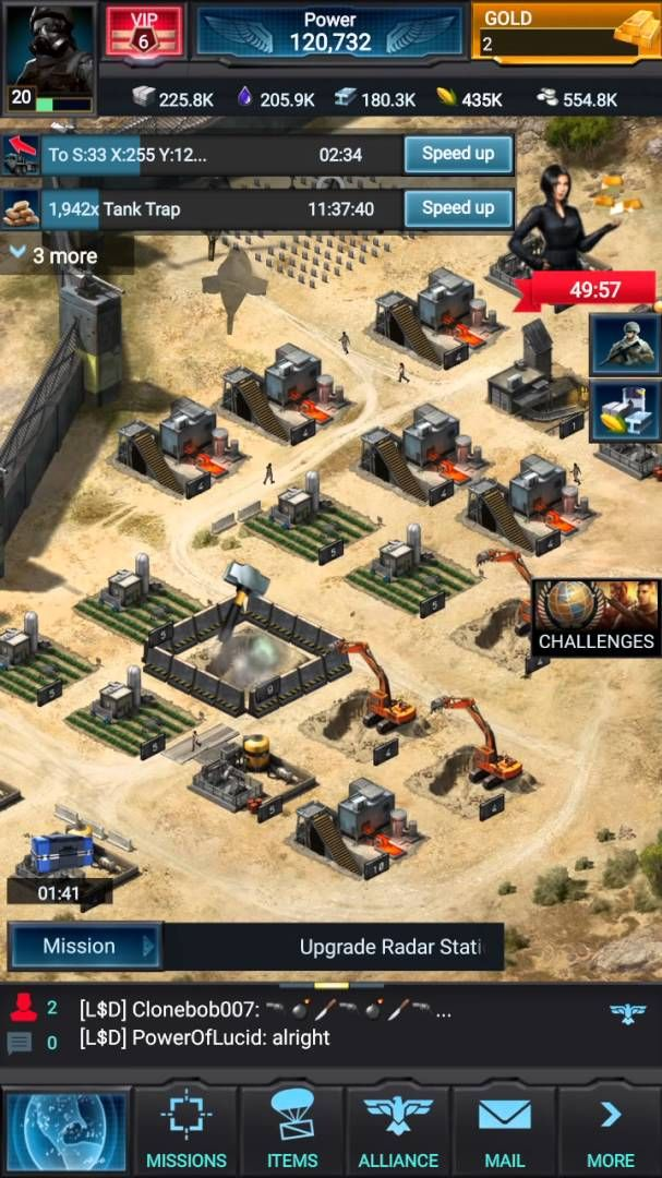 cheats for mobile strike