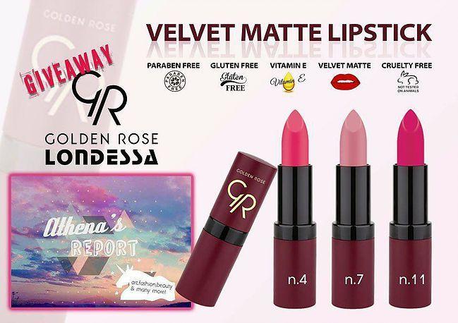Διαγωνισμός με δώρο σε μια νικήτρια, 3 χρώματα κραγιόν της TOP σειράς Velvet Matte Lipstick - https://www.saveandwin.gr/diagonismoi-sw/diagonismos-me-doro-se-mia-nikitria-3-xromata-kragion-tis-top-seiras/