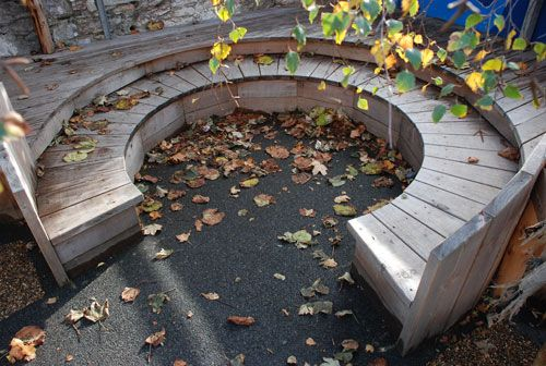 Cathedral School, Plymouth.  We designed a corner of the infants school playground which can be used for story and play.