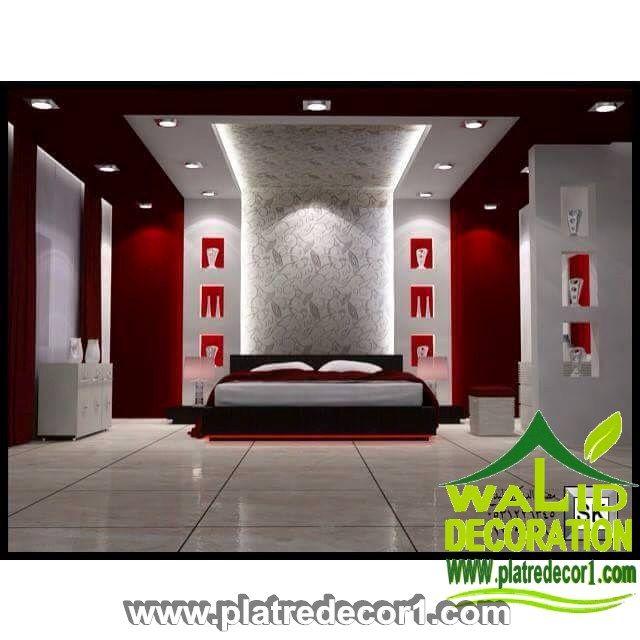 ديكور جبس غرف النوم Modern Bedroom Decor Home