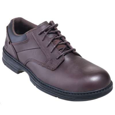 Caterpillar Shoes: Men's 90016 Steel Toe Brown ESD Work Shoes Check out  these slip-