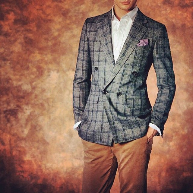 #bespoke #blazer #suit #style #tailor #tailored #melbourne #australia #checkers #tailormade