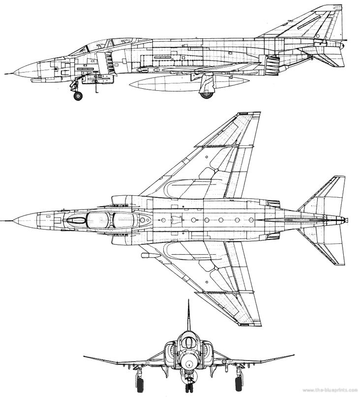 17 Best Images About Aircraft 3-view Scale Drawings On