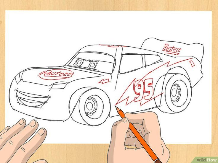 The 55 best Art images on Pinterest | Lightning mcqueen drawing, How ...