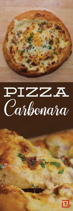 Here's How to Make Carbonara Pizza Recipe - Thrillist