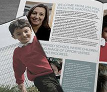 Brochure/ prospectus design for Kingsway Community Trust.