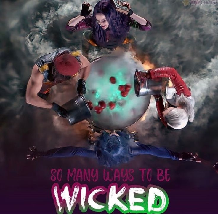 Mal Evie Jay and Carlos Descendants 2 So Many Ways To Be WICKED #DisneyChannel