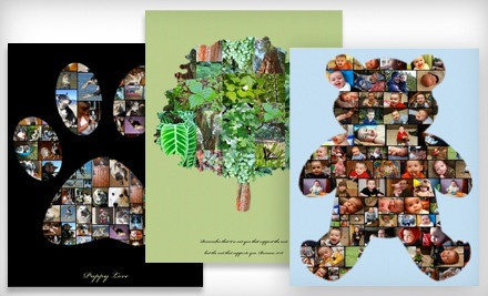 Collage.com - online collage-maker arranges up to 500 photos into one of 99+ shapes