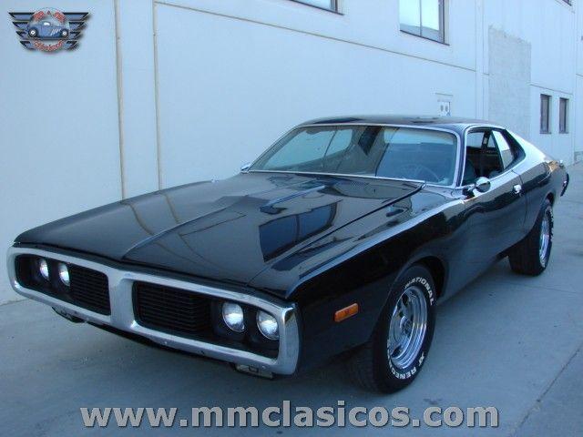 Venta Coche Clásico Deportivo Americano Muscle Car Dodge Charger V8 1973 - Venta de coches clásicos | Restauración | Alquiler Burgos