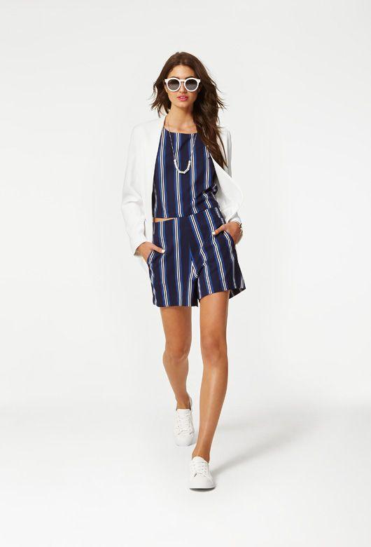 Shop the look: http://sportsgirl.in/1JvrHd2 #sportsgirl #retro #varsity #sportsluxe