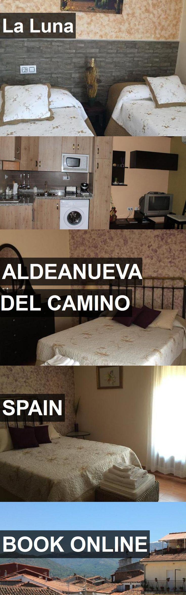 Hotel La Luna in Aldeanueva del Camino, Spain. For more information, photos, reviews and best prices please follow the link. #Spain #AldeanuevadelCamino #travel #vacation #hotel