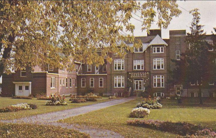 Times gone by...Belleville General Hospital Ontario