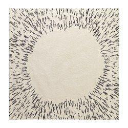 IKEA - SANDERUM, ラグ パイル長, , 目の詰まった厚手のパイル。ソフトな感触で音を和らげる効果がありますパイルには合成繊維を使用。丈夫で汚れに強く、お手入れも簡単です