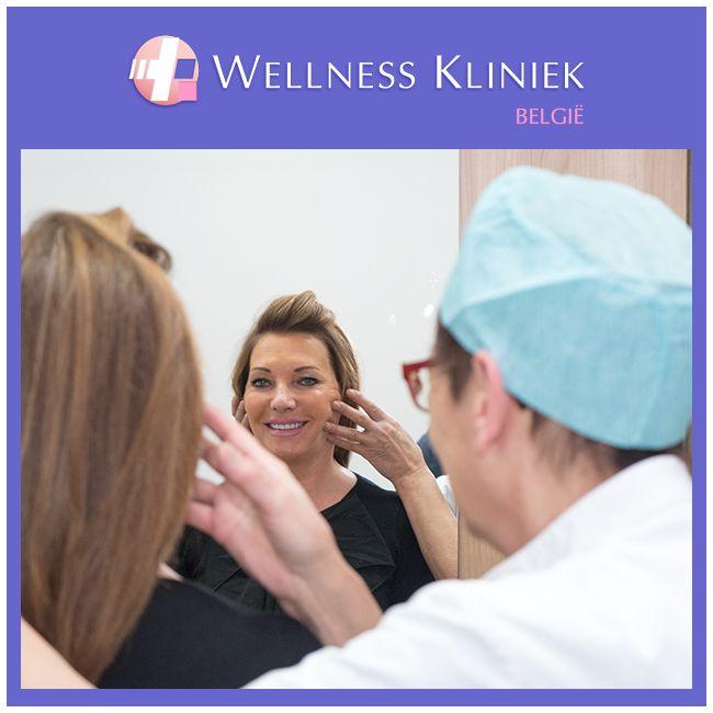 Bij de Wellness Kliniek kan u terecht voor alle behandelingen van het gezicht: #facelift, #neuscorrectie, #ooglidcorrectie, #kincorrectie,... . Tijdens het consult komt alles aan bod wat met uw behandeling te maken heeft. U bespreekt met de plastisch chirurg uw wensen en verwachtingen.