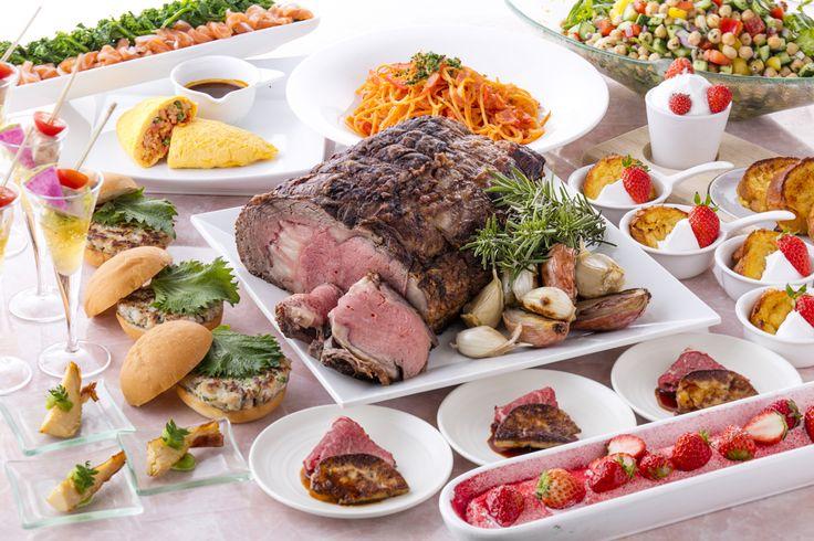 ローストビーフから苺デザートまでヒルトン小田原リゾートスパが春のランチブッフェを開催