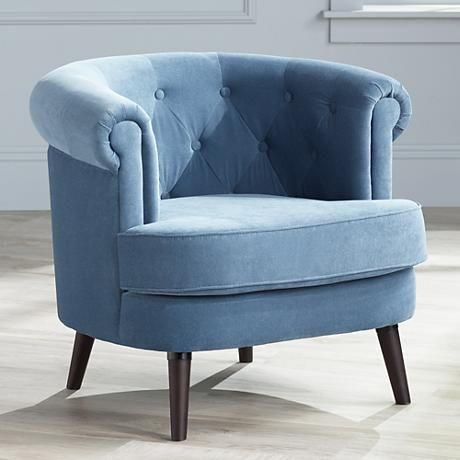 17 Best Ideas About Blue Accent Chairs On Pinterest | Upholstered