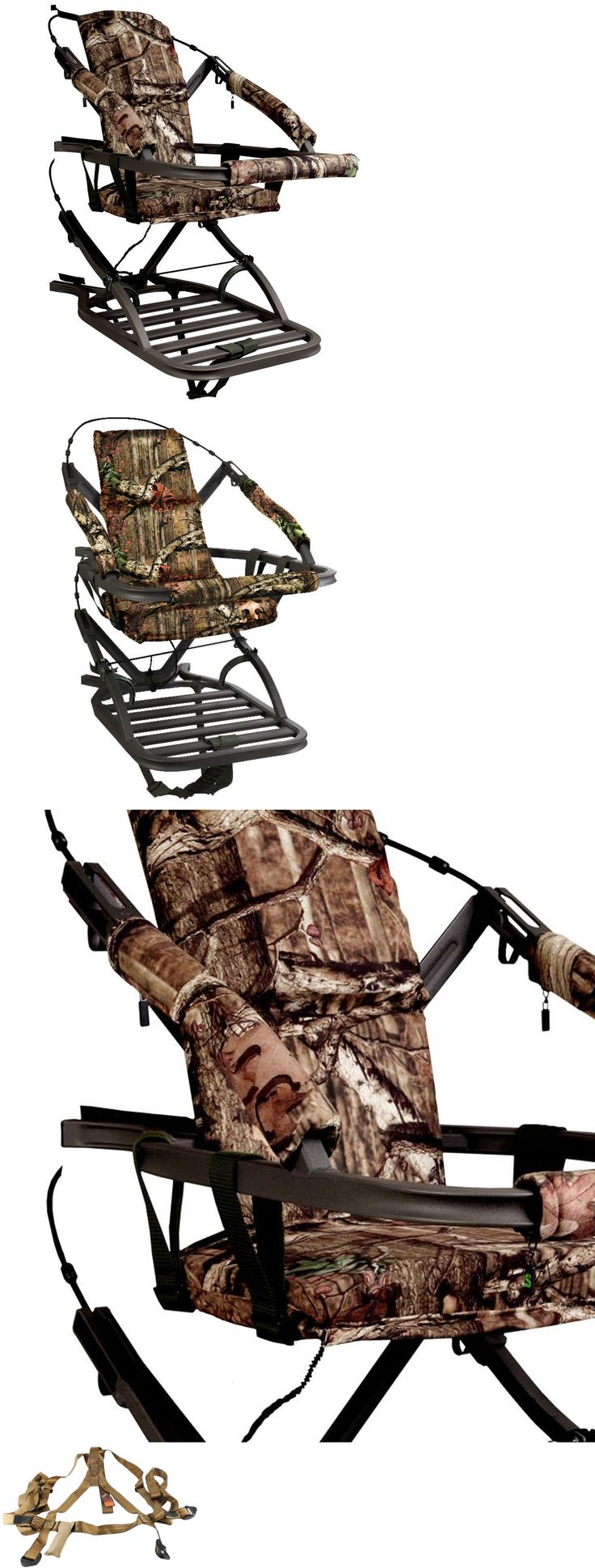 Bow hunting chair - Tree Stands 52508 Summit Viper Sd 81120 Self Climbing Treestand 300 Lbs Bow And