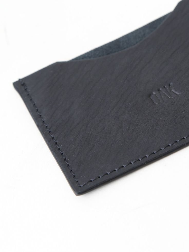 The Varet Card Holder by OAK was made in India from smooth cow leather.