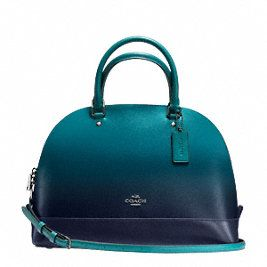 COACH SIERRA SATCHEL IN OMBRE LEATHER, STYLE: F38397