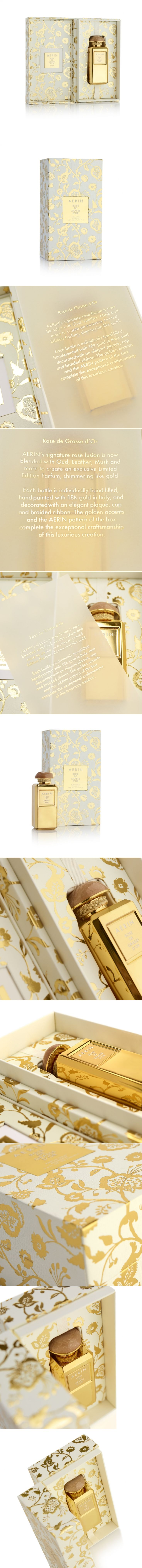 Live Like Royalty with Aerin Rose de Glasse d'Or Fragrance — The Dieline   Packaging & Branding Design & Innovation News