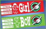 Shoebox Labels for Operation Christmas Child