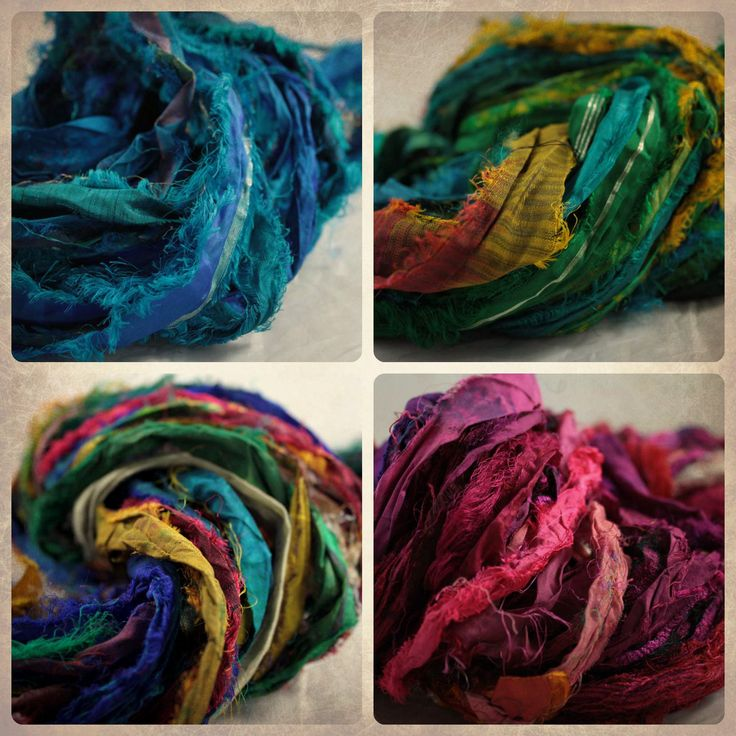 Finding good sari silk ribbon projects can be difficult. Here are some ideas for using sari silk ribbon that will show off its unique rustic beauty.