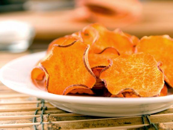 Sanken kann auch gesund sein, und Chips müssen nicht immer vor Fett greifen. Probieren Sie mal unser Rezept für selbst gemachte Süßkartoffelchips http://www.fuersie.de/kochen/rezeptideen/artikel/suesskartoffelchips