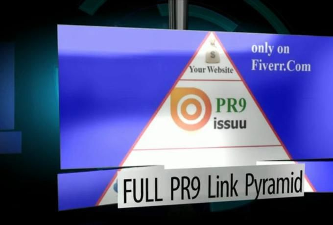 Issuu based FULL PR9 mini Link Pyramid  #Miami #SEO #LocalSEO #LinkPyramid #Issuu