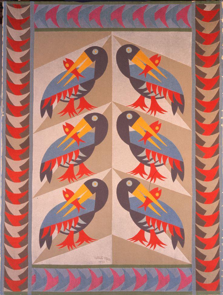 """Fortunato Depero - Pellicani, 1932 - """"La Magnifica Ossessione"""" www.mart.tn.it/magnificaossessione"""