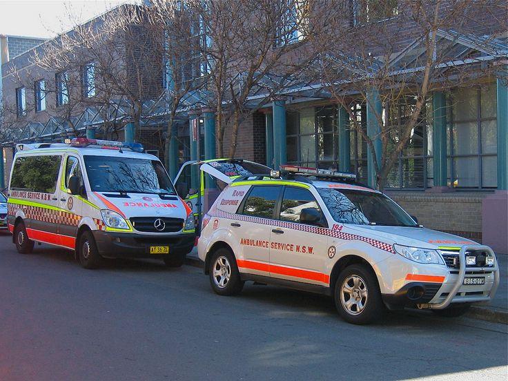Sydney Ambulance Ambulance, Rescue vehicles, Subaru forester